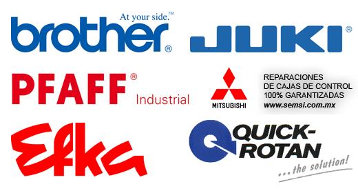 Servicio de reparación electrónica para Máquinas de Coser Industriales