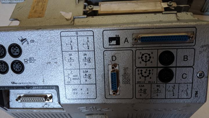 Caja EFKA DA82 N153 para máquina de coser industrial